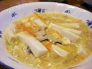 筍の姫皮のスープ