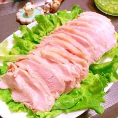 花椒ほんわり鶏むね肉の中華風しっとり茹で鶏