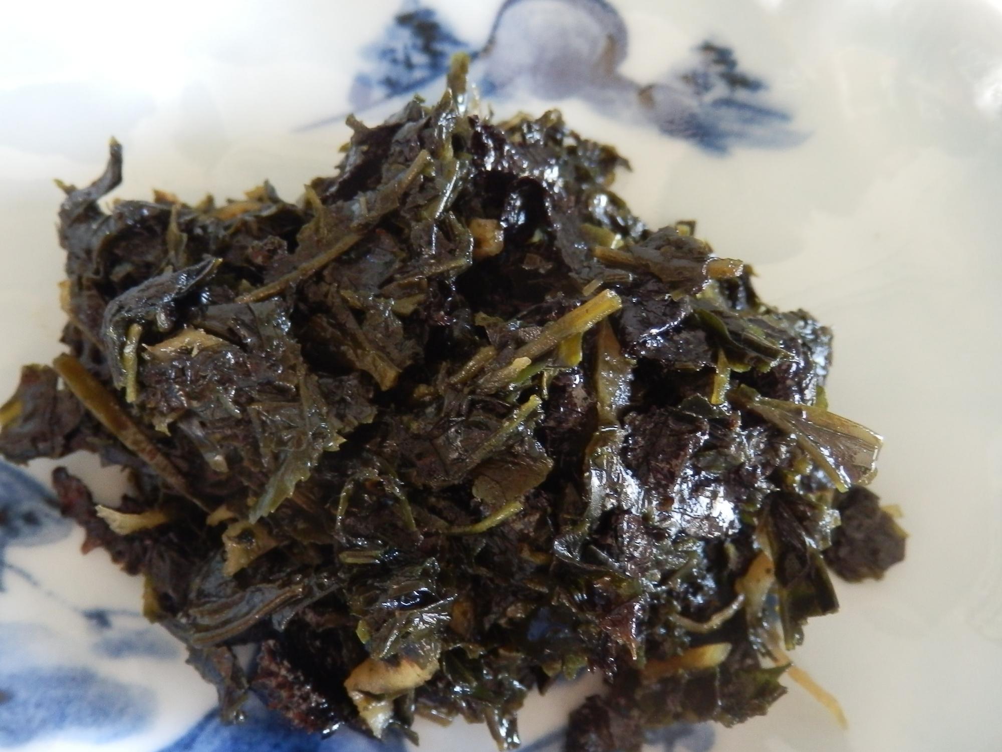 4. 茶がら入り海苔の佃煮