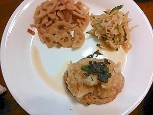 おろしハンバーグ(豆腐in)