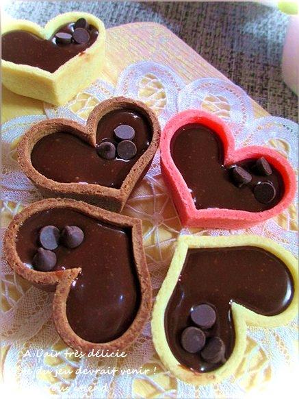 バレンタインに生チョコのチョコタルト レシピ・作り方 by はなまる子♪|楽天レシピ