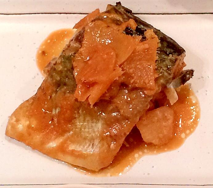 【鯖の味噌煮】生姜たっぷり