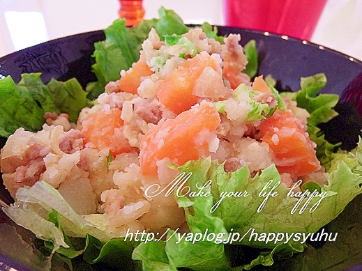 コクと甘みがGOOD☆焼き肉のタレでポテトサラダ