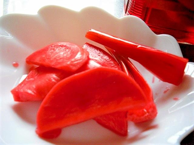 赤かぶの甘酢漬け レシピ・作り方