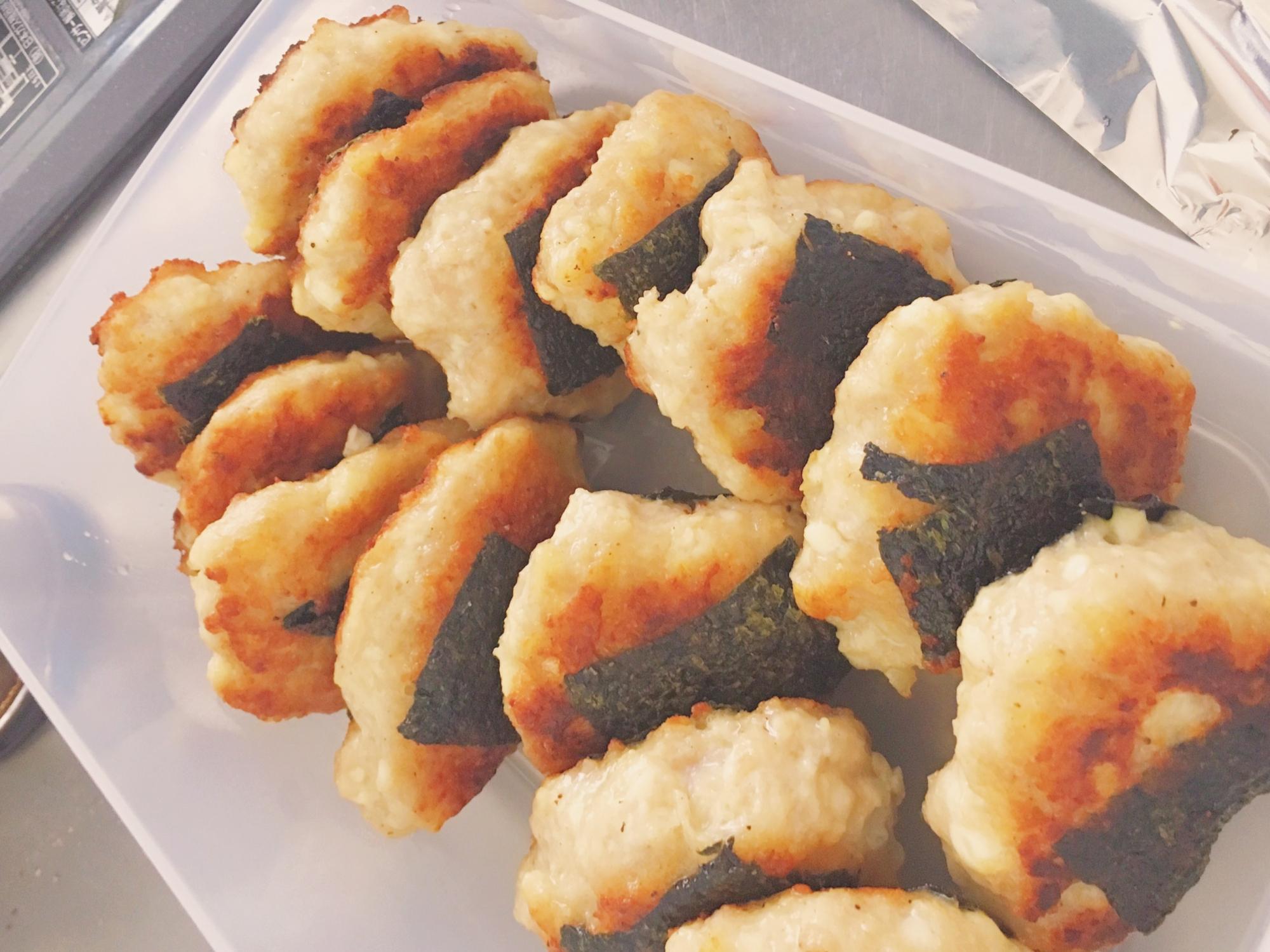 超ヘルシー豆腐メインの海苔チキン! レシピ・作り方