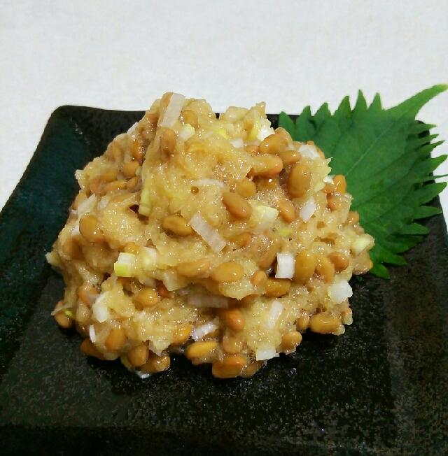 夏のおつまみに☆さっぱりおろし納豆