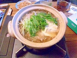体ぽかぽか生姜鍋☆