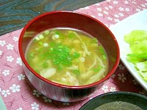 風邪予防!(/・ω・)/☆ネギと生姜の温かスープ☆