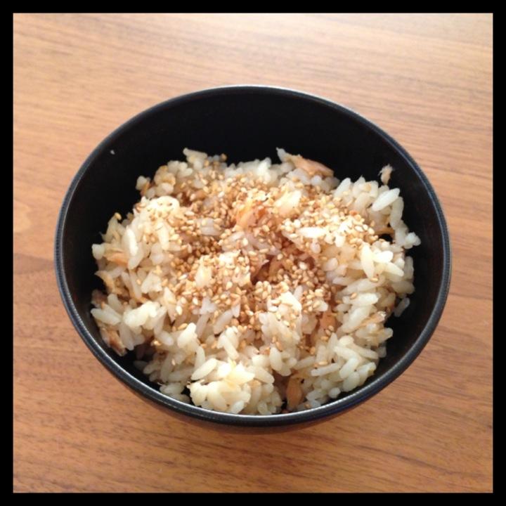 簡単!塩鮭の炊き込みご飯