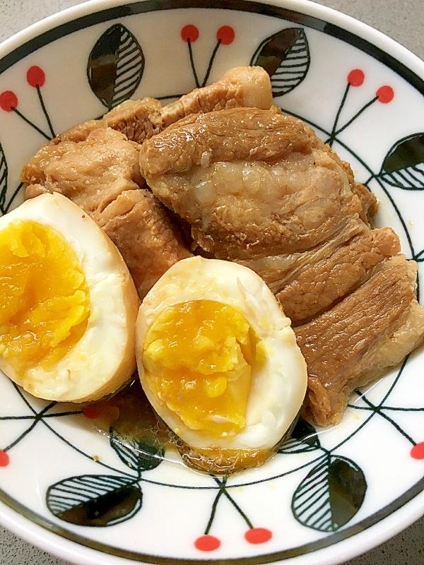 9. 豚の角煮をメープルシロップで