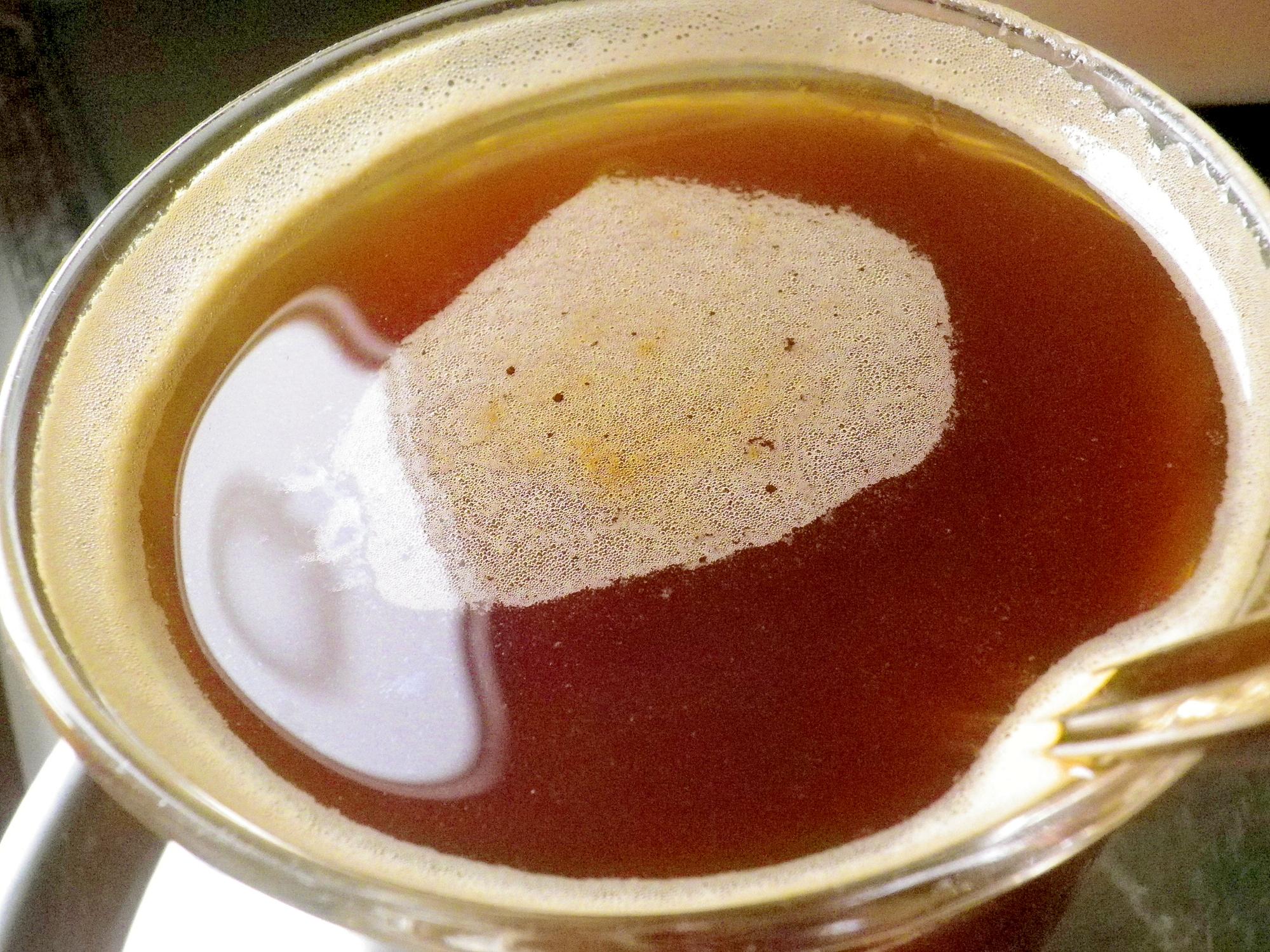 きな粉のほっとコーヒーゼリー(節分豆)