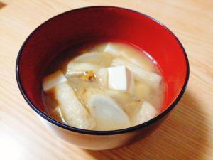 味噌汁 ごぼう