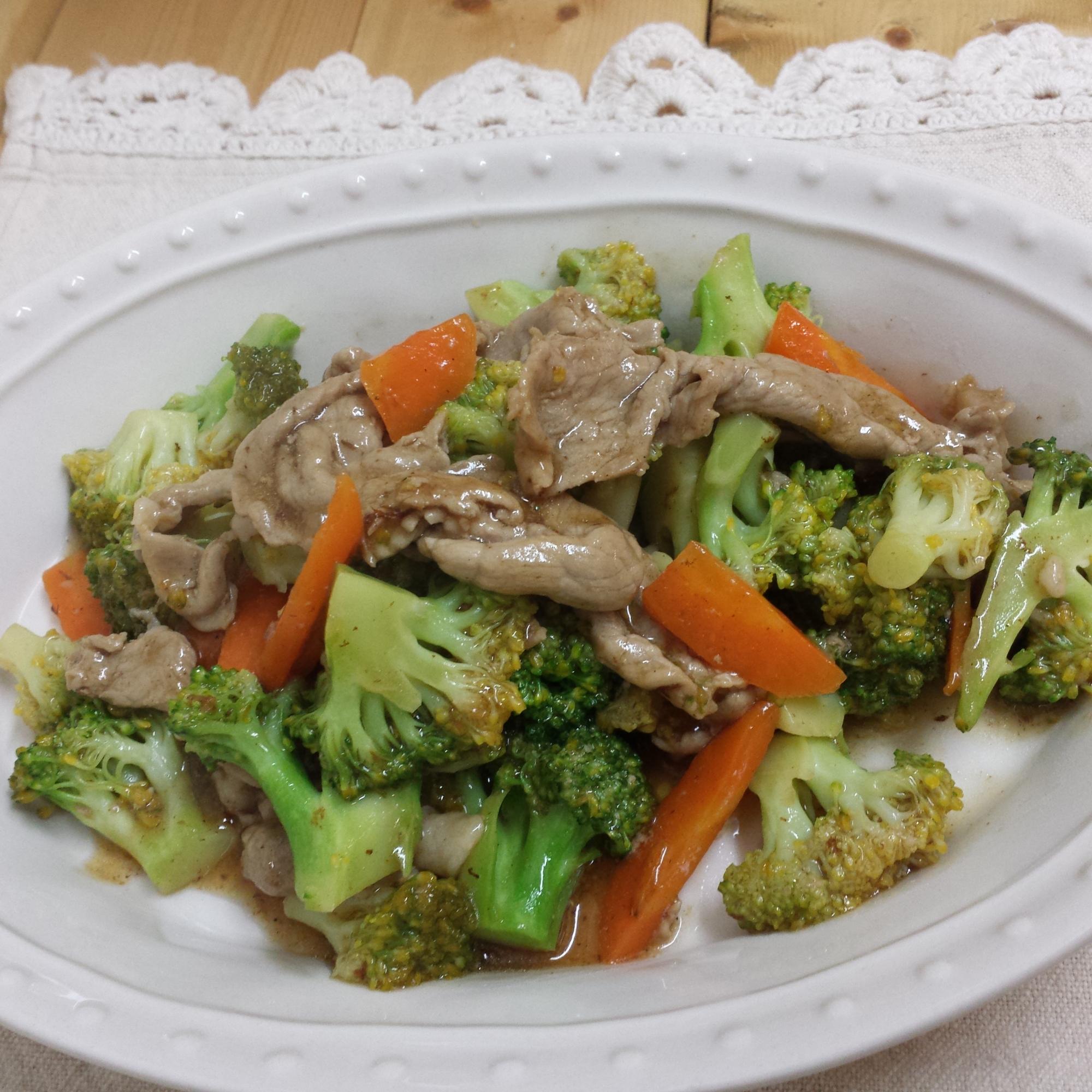 【ブロッコリー大量消費】ブロッコリーの中華風炒め