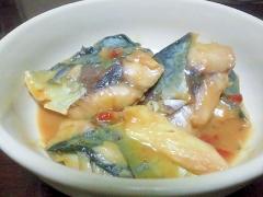 簡単☆さばの塩麹味噌梅干煮