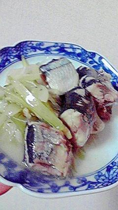 あっさりした秋刀魚の洋風煮