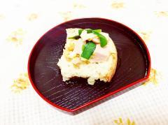 オリーブ風味♪卵とニラのチーズトースト