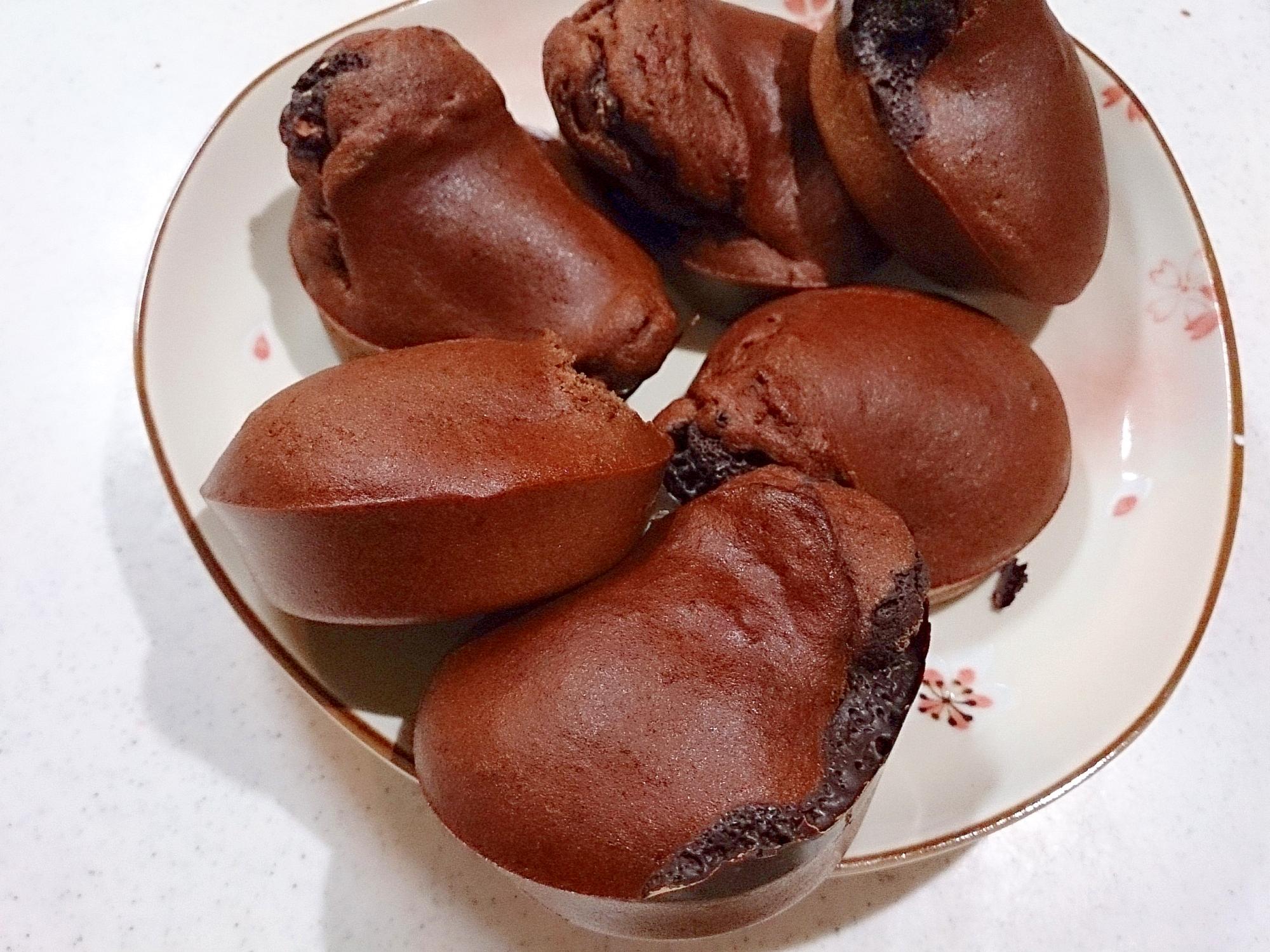 受験生応援ブレンド簡単チョコカップケーキ