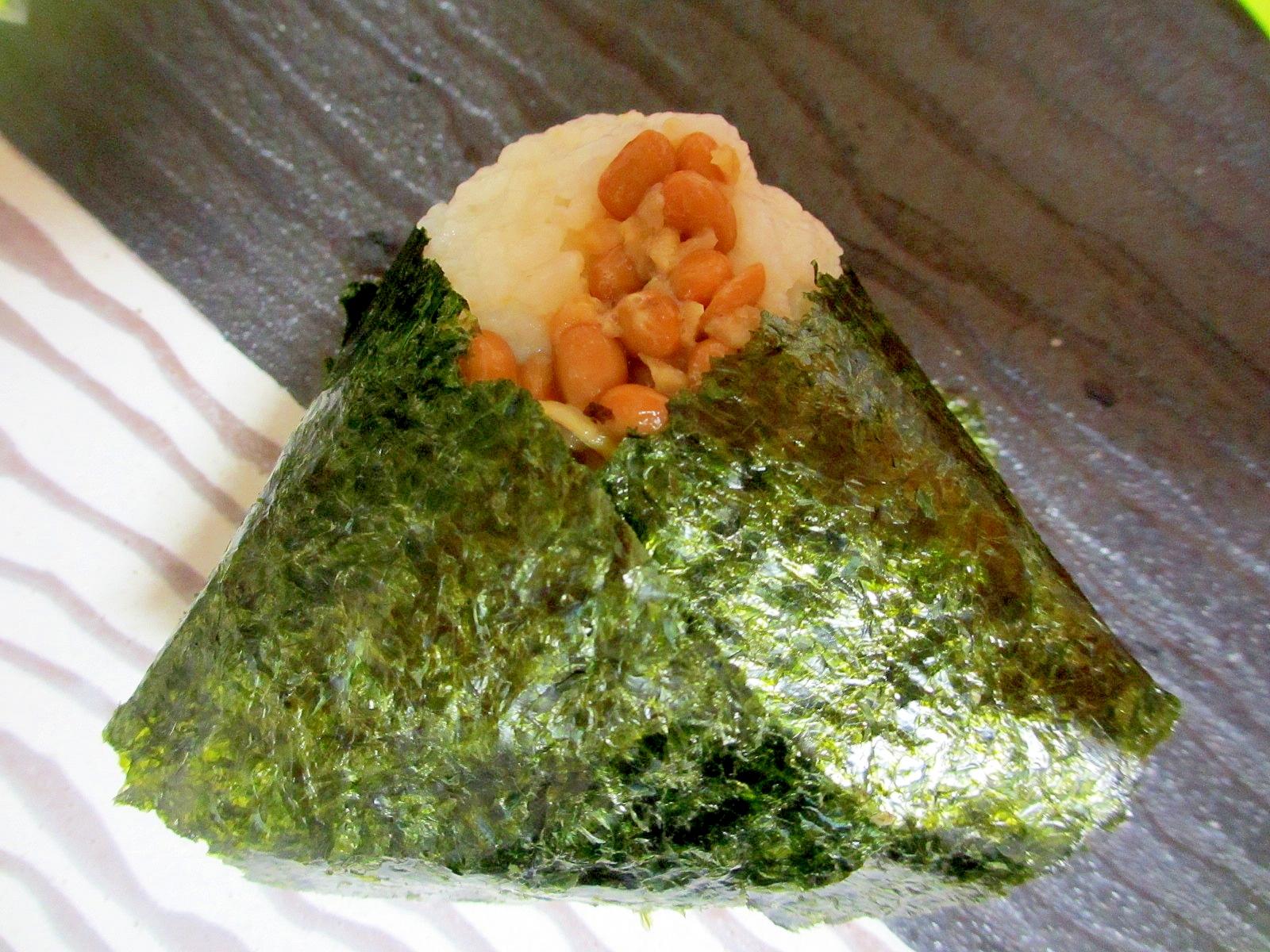 茨城県そぼろ納豆おにぎり