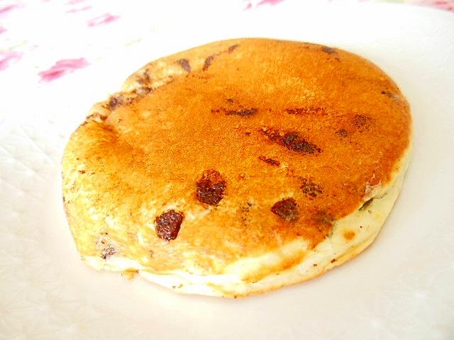 HMdeラム酒と生姜とチョコチップのパンケーキ