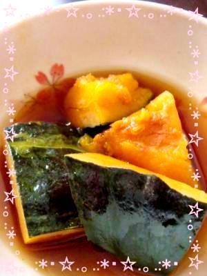 収穫の秋♪簡単かぼちゃの煮物