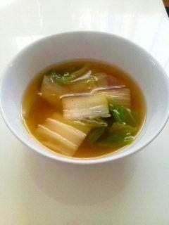 超簡単!白菜の中華スープ