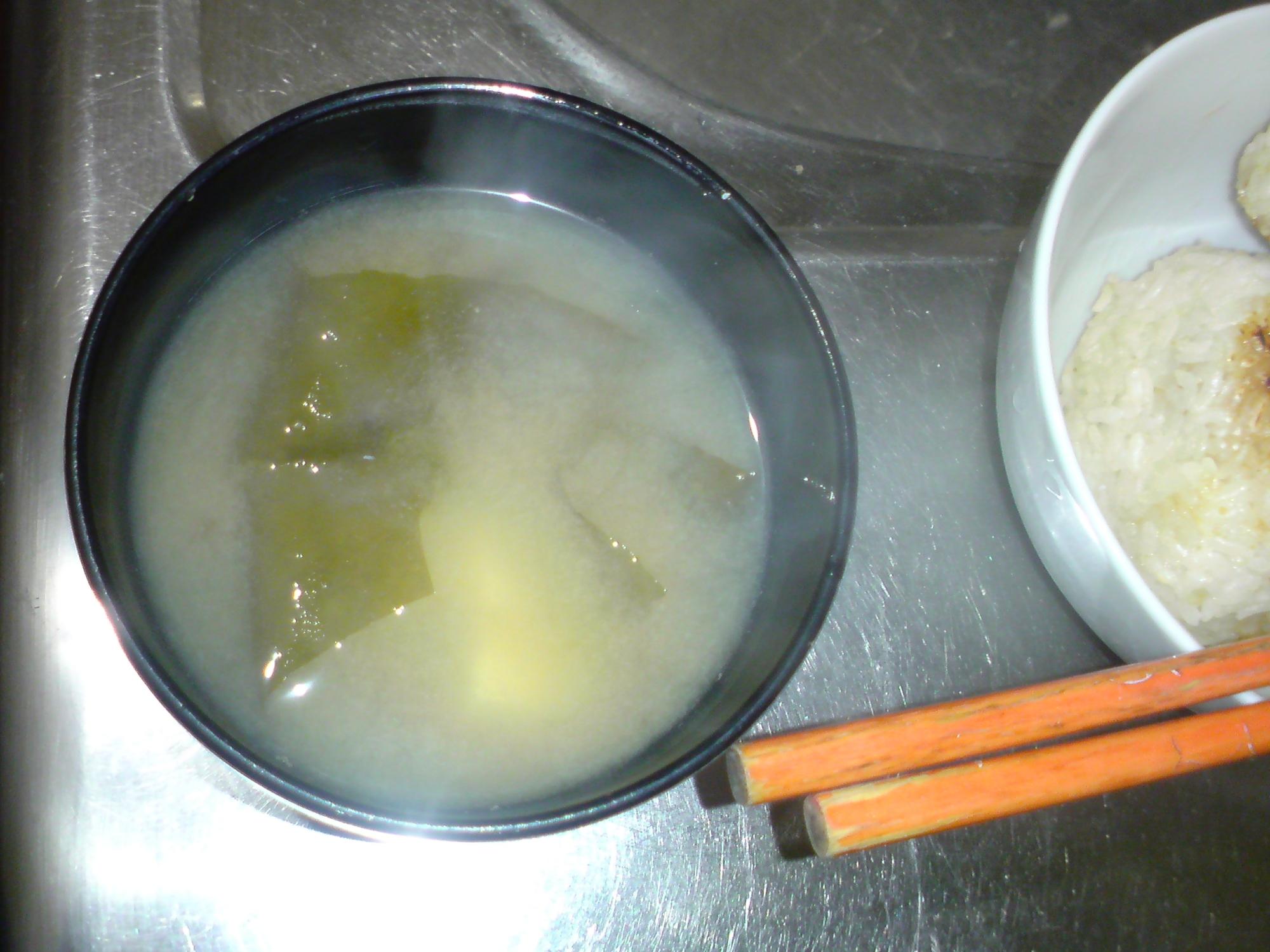 簡単味噌汁