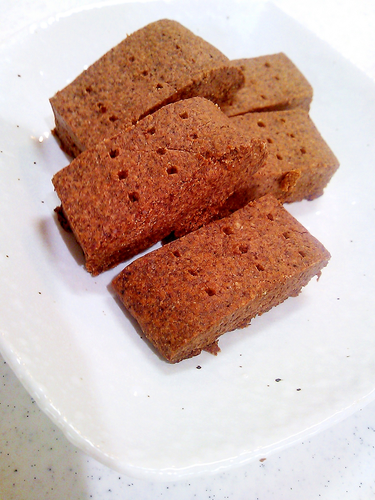 【糖質制限】ココア味のショートブレッド