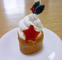 クリスマス☆子供と作れる♪簡単節約♪プチケーキ