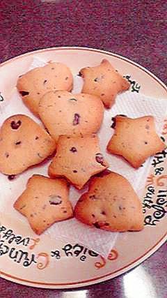 お菓子のチョコを入れて☆チョコチップクッキー♪