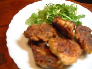 ヘルシー唐揚★鶏むね肉のカリカリ揚げ