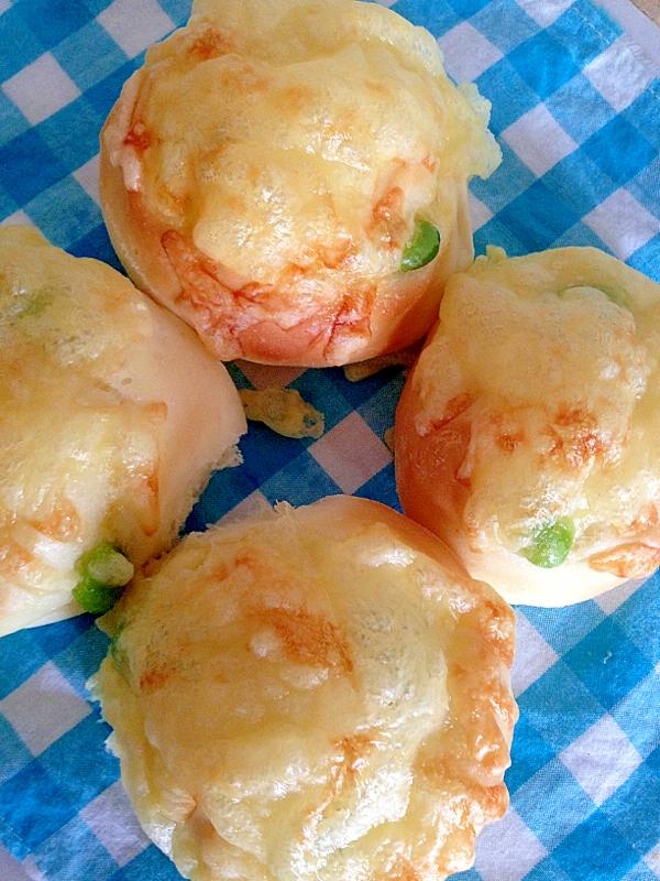 枝豆チーズパン
