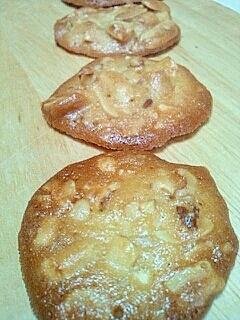 卵白消費にもなるナッツのクッキー☆ホワイトデーにも
