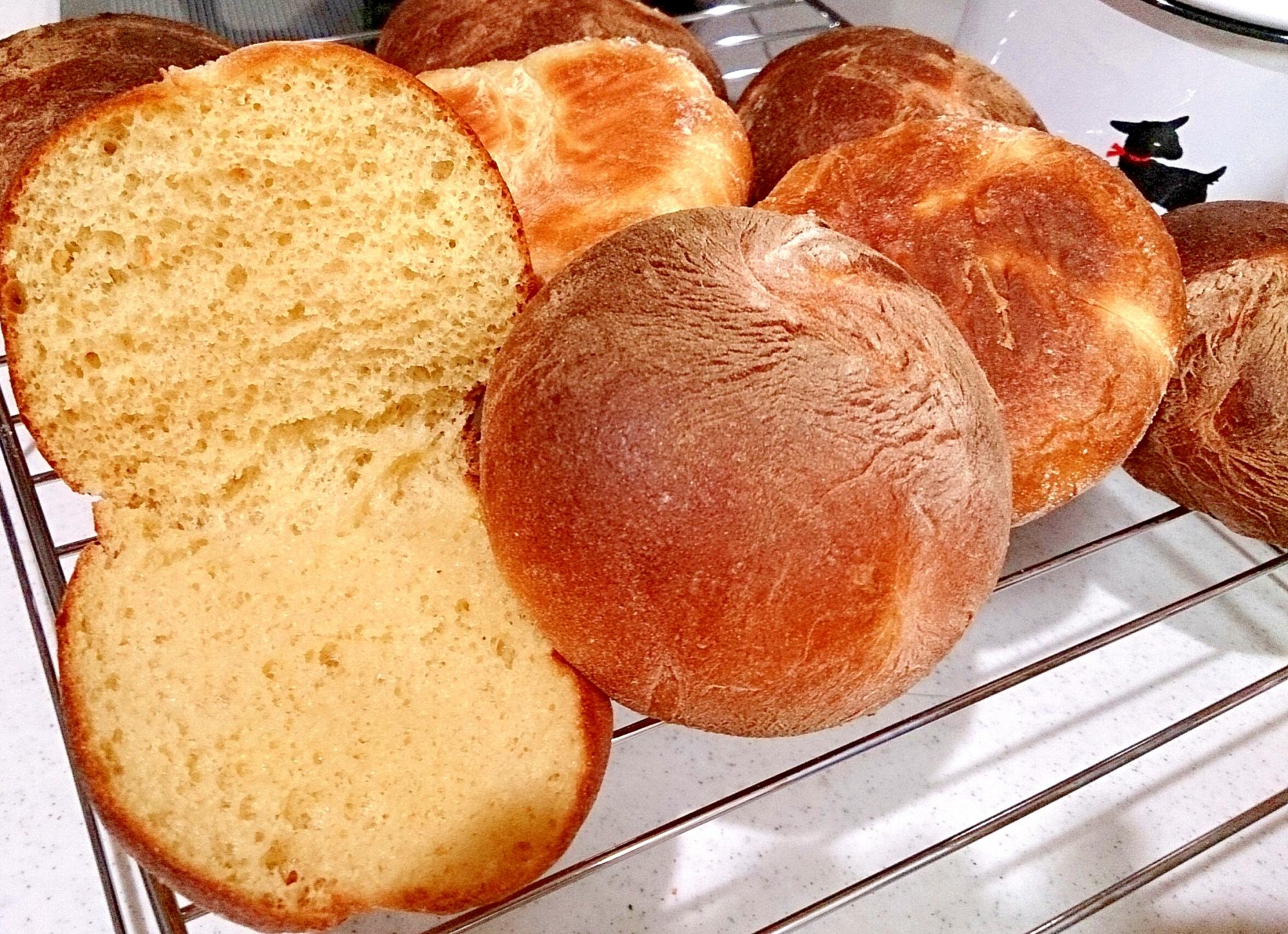 【糖質制限】パンミックス粉でお手軽ふわふわプチパン