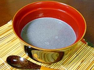 胡麻ミルク汁粉