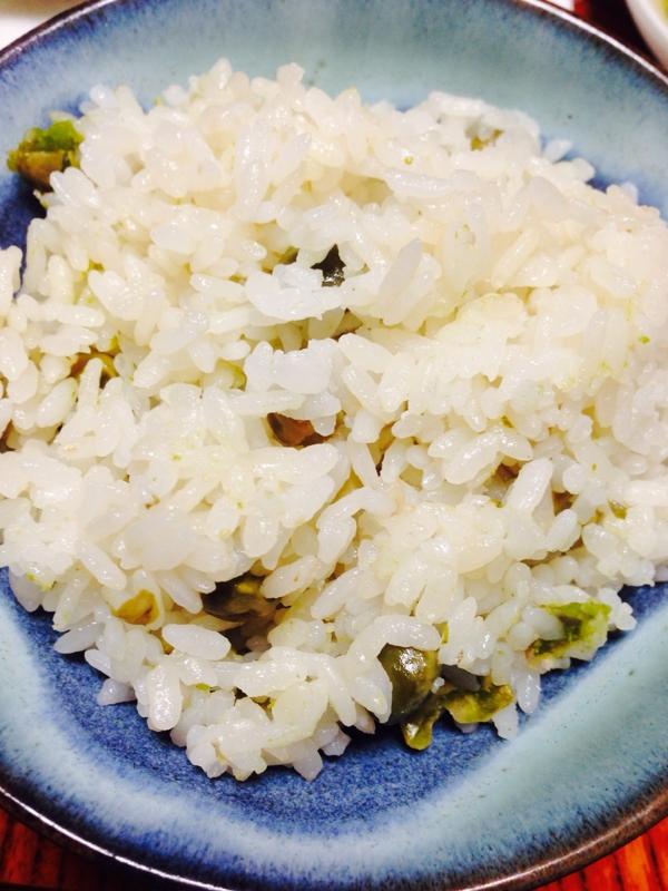 えんどう豆のご飯