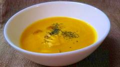 香味野菜とかぼちゃのスープ