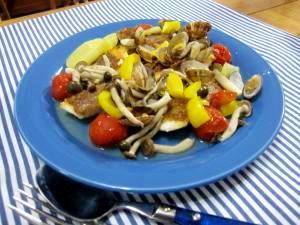 豪華だね鯛とあさり&カラフル野菜のアクアパッツァ♪