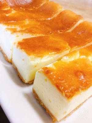 生 クリーム なし レアチーズ ケーキ