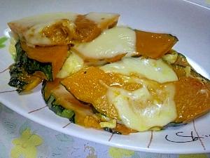 フライパン1つでシンプル♪かぼちゃのチーズ焼き レシピ・作り方 by ちー118|楽天レシピ