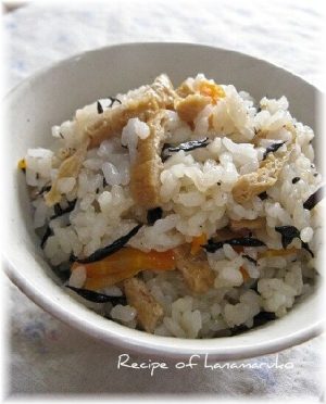 炊き込みひじきご飯、基本の作り方