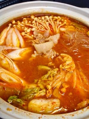 簡単♪キムチ鍋 レシピ・作り方