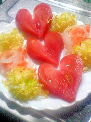 見た目にカワイイ☆春野菜たっぷりサラダ