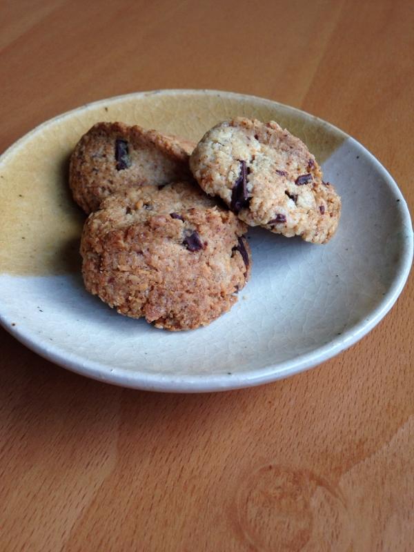 バター不使用♪ココナッツチョコクッキー