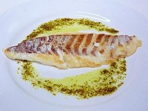 簡単にすぐできる♪ 鯛のソテー バジルソース添え レシピ ...