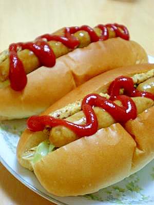 朝食に☆スタンダードなホットドッグ☆