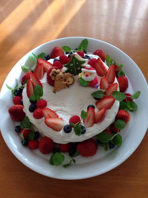 4. ベリーたっぷりショートケーキ