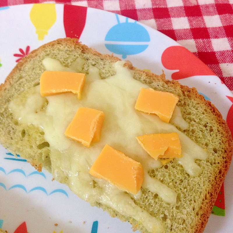 Wチーズのトースト