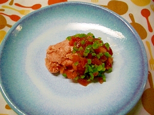 鮭のマリネソース(離乳食)