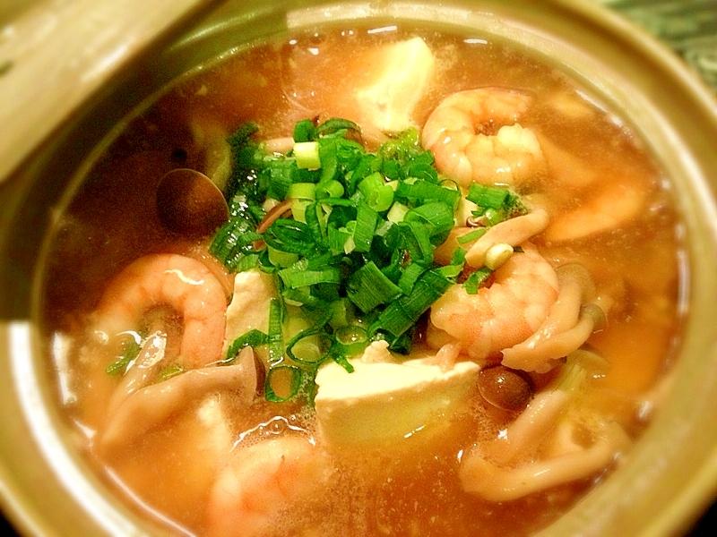 熱々お豆腐のあんかけ鍋