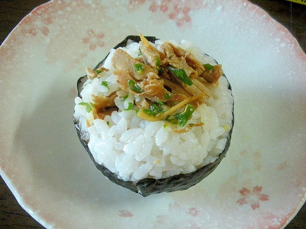 和歌山☆マグロの生姜煮入りおにぎり☆
